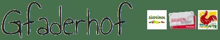 Gfaderhof Logo